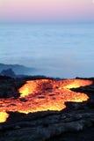 ηφαίστειο έκρηξης Στοκ Εικόνα