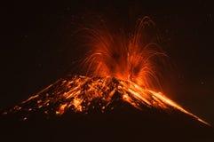 Ηφαίστειο Ισημερινός Tungurahua Στοκ εικόνα με δικαίωμα ελεύθερης χρήσης