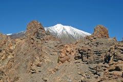 Ηφαίστειο και Roques de Garcia, Tenerife, Κανάρια νησιά EL Teide Στοκ φωτογραφία με δικαίωμα ελεύθερης χρήσης