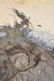 ηφαίστειο λάσπης φυσαλί&del Στοκ Φωτογραφία