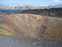 ηφαίστειο νησιών στοκ εικόνες