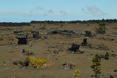 Ηφαίστειο που εξαφανίζεται με τους ηφαιστειακούς σχηματισμούς βράχων στοκ φωτογραφίες με δικαίωμα ελεύθερης χρήσης