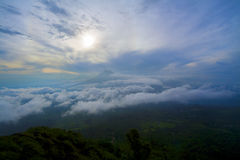 Ηφαίστειο στη Γουατεμάλα Στοκ Εικόνες
