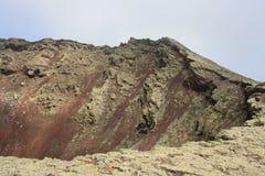 Ηφαίστειο στο Lanzarote Στοκ φωτογραφία με δικαίωμα ελεύθερης χρήσης