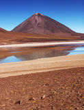 Ηφαίστειο της Βολιβίας στοκ φωτογραφία με δικαίωμα ελεύθερης χρήσης