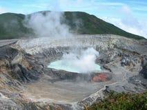 ηφαίστειο της Κόστα Ρίκα Στοκ Εικόνες