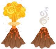 ηφαίστειο ελεύθερη απεικόνιση δικαιώματος