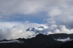 Ηφαίστειο Antisana Εθνική cayambe-κόκα Ισημερινός πάρκων Στοκ Φωτογραφία