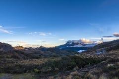 Ηφαίστειο Antisana Εθνική cayambe-κόκα Ισημερινός πάρκων Στοκ Φωτογραφίες