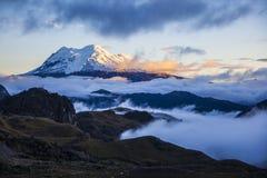 Ηφαίστειο Antisna Στοκ Φωτογραφία
