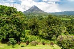 Ηφαίστειο Arenal στη Κόστα Ρίκα Στοκ φωτογραφίες με δικαίωμα ελεύθερης χρήσης