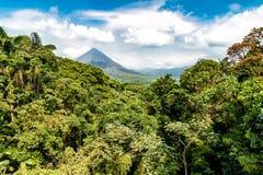 Ηφαίστειο Arenal στη Κόστα Ρίκα Στοκ Εικόνες