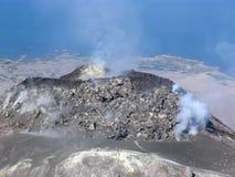 ηφαίστειο augustine Στοκ Εικόνες