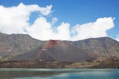 Ηφαίστειο Baru Jari Στοκ φωτογραφία με δικαίωμα ελεύθερης χρήσης