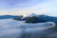 Ηφαίστειο Bromo στην Ινδονησία Στοκ Εικόνα