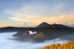Ηφαίστειο Bromo στην Ινδονησία Στοκ Εικόνες