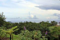 Ηφαίστειο Cerfs Trou aux, βόρειο νησί, Μαυρίκιος στοκ εικόνες