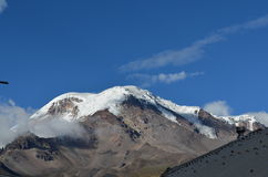 Ηφαίστειο Chimborazo στον Ισημερινό Στοκ Φωτογραφία