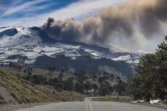Ηφαίστειο Copahue στοκ εικόνες