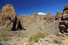 Ηφαίστειο EL Teide, Tenerife, Κανάρια νησιά Στοκ Φωτογραφία