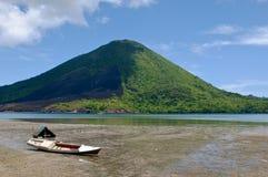 Ηφαίστειο Gunung API, Banda νησιά, Ινδονησία Στοκ Εικόνα