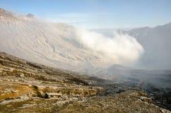 Ηφαίστειο Ijen Στοκ εικόνα με δικαίωμα ελεύθερης χρήσης