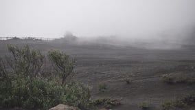 Ηφαίστειο Irazu με την υδρονέφωση στη Κόστα Ρίκα φιλμ μικρού μήκους