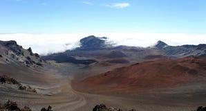 ηφαίστειο Maui haleakala Στοκ Εικόνες