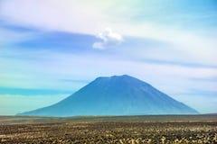 Ηφαίστειο Misti που βρίσκεται κοντά σε Arequipa, Περού Στοκ εικόνα με δικαίωμα ελεύθερης χρήσης
