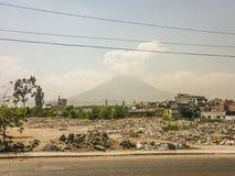 Ηφαίστειο Misti σε Arequipa Στοκ φωτογραφία με δικαίωμα ελεύθερης χρήσης