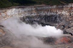 Ηφαίστειο Poas, Κόστα Ρίκα Στοκ φωτογραφίες με δικαίωμα ελεύθερης χρήσης