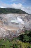 Ηφαίστειο Poas, Κόστα Ρίκα Στοκ εικόνες με δικαίωμα ελεύθερης χρήσης