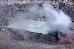 Ηφαίστειο Poas, Κόστα Ρίκα Στοκ εικόνα με δικαίωμα ελεύθερης χρήσης