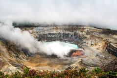 Ηφαίστειο Poas - Κόστα Ρίκα Στοκ φωτογραφίες με δικαίωμα ελεύθερης χρήσης