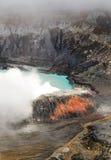Ηφαίστειο Poas - Κόστα Ρίκα Στοκ Εικόνες