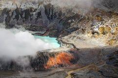 Ηφαίστειο Poas - Κόστα Ρίκα Στοκ εικόνες με δικαίωμα ελεύθερης χρήσης