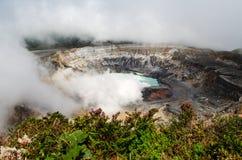 Ηφαίστειο Poas - Κόστα Ρίκα Στοκ εικόνα με δικαίωμα ελεύθερης χρήσης