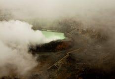 Ηφαίστειο Poas, Κόστα Ρίκα Στοκ Εικόνες