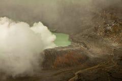 Ηφαίστειο Poas, Κόστα Ρίκα Στοκ φωτογραφία με δικαίωμα ελεύθερης χρήσης