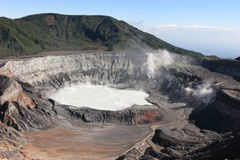 ηφαίστειο poas Στοκ Εικόνες