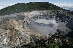ηφαίστειο poas Στοκ εικόνα με δικαίωμα ελεύθερης χρήσης