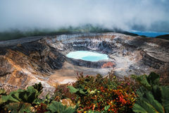Ηφαίστειο Poas Στοκ Εικόνα