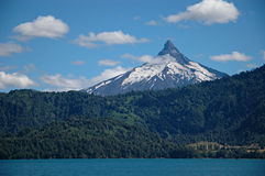 ηφαίστειο puntiagudo της Χιλής Στοκ Φωτογραφία