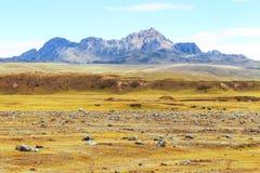 Ηφαίστειο Ruminahui στον Ισημερινό Στοκ εικόνες με δικαίωμα ελεύθερης χρήσης