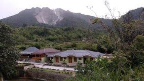 Ηφαίστειο Sibayak στοκ φωτογραφία με δικαίωμα ελεύθερης χρήσης