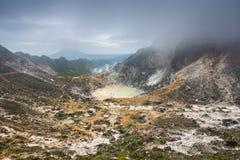 Ηφαίστειο Sibayak, Berastagi, Sumatra, Ινδονησία Στοκ φωτογραφία με δικαίωμα ελεύθερης χρήσης