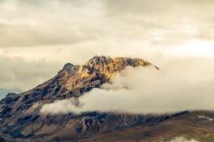 Ηφαίστειο Sincholagua στον Ισημερινό Στοκ Εικόνα
