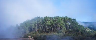 Ηφαίστειο Taupo στο βόρειο νησί στη Νέα Ζηλανδία Στοκ φωτογραφία με δικαίωμα ελεύθερης χρήσης