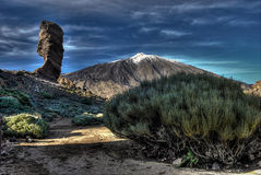 ηφαίστειο teide βουνών EL Στοκ Εικόνες