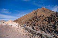 Ηφαίστειο Teide. Στοκ φωτογραφίες με δικαίωμα ελεύθερης χρήσης